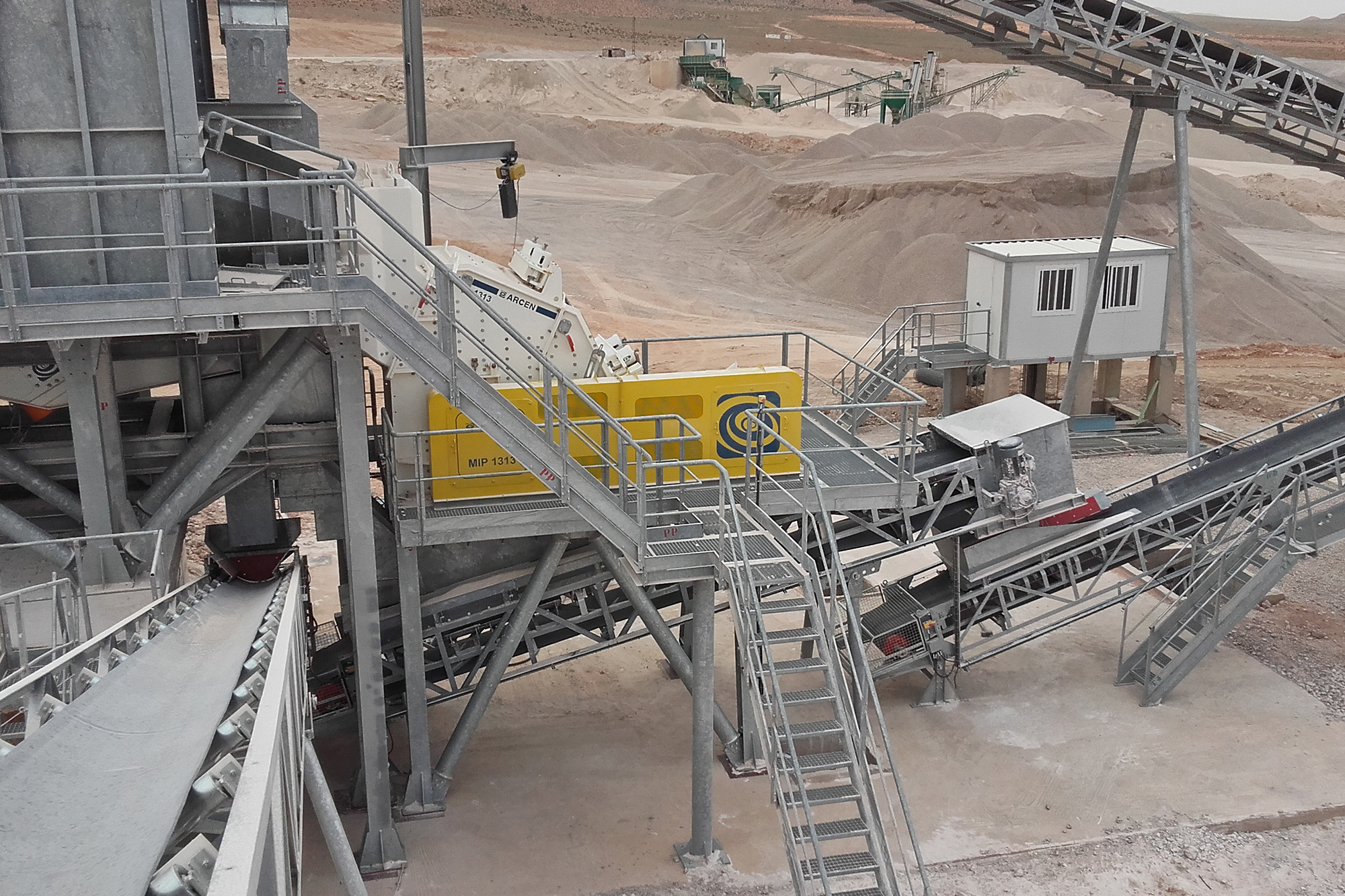 Treea Machinery Aggregates Minerals Stationary 01
