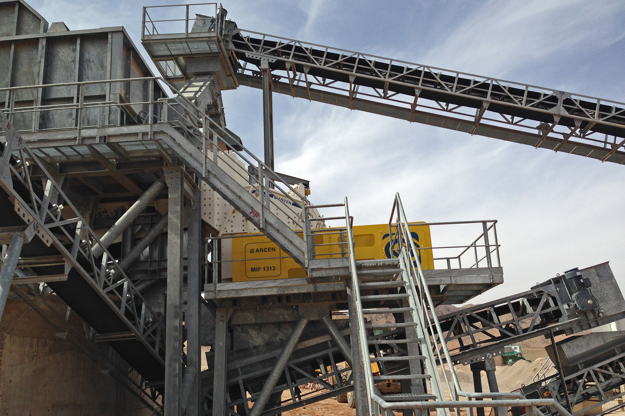 Treea Machinery Aggregates Minerals Stationary 03