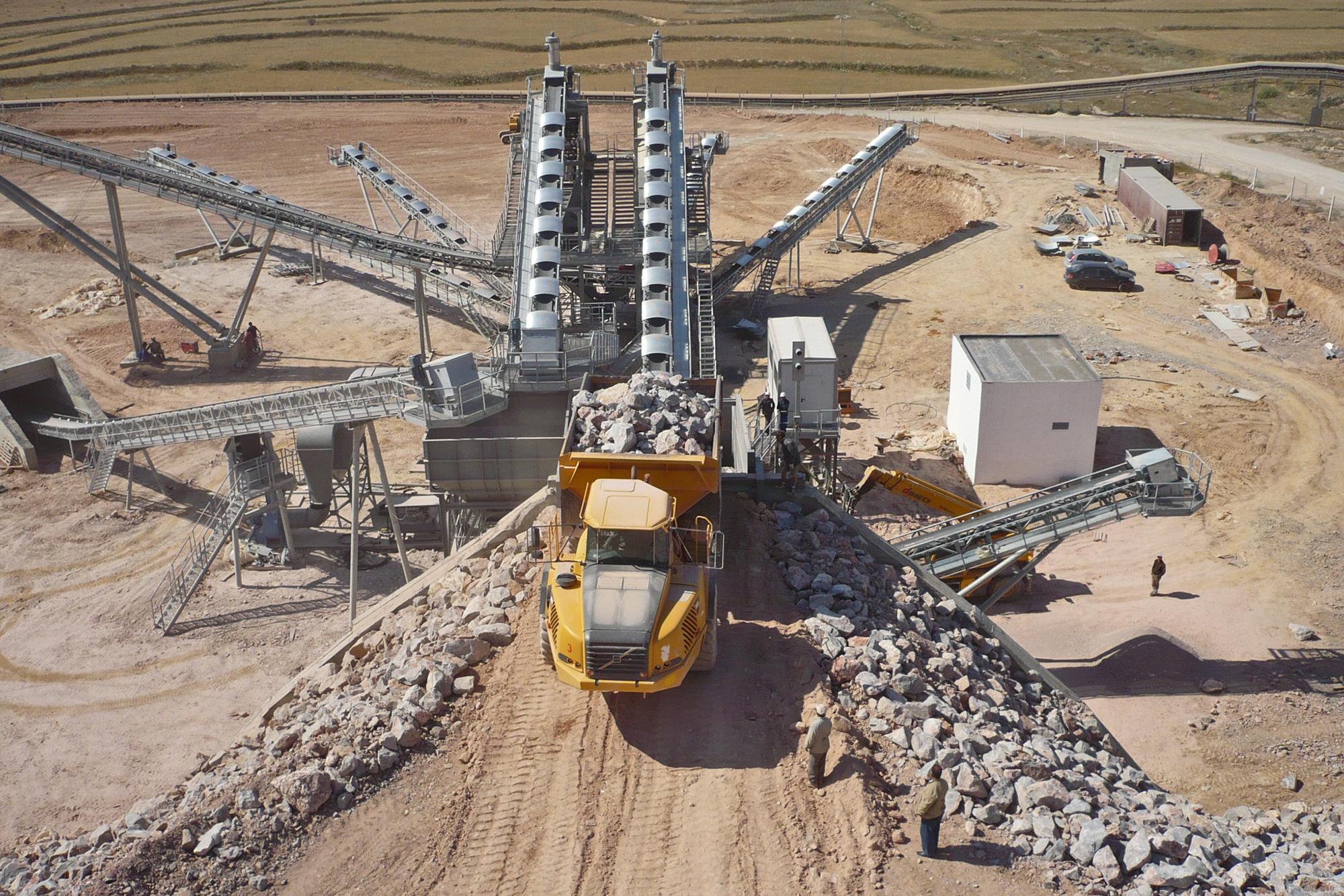 Treea Machinery Aggregates Minerals Stationary 06