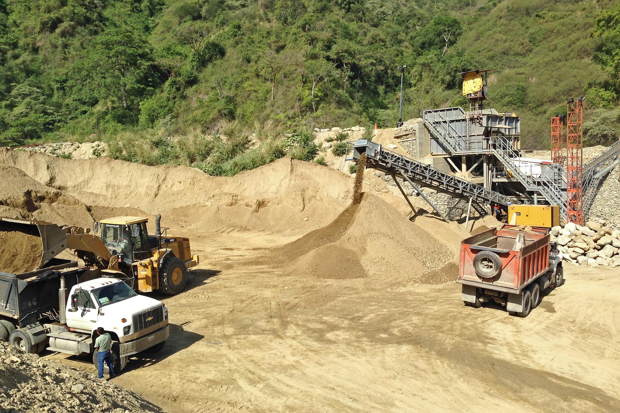 Treea Machinery Aggregates Minerals Stationary 08