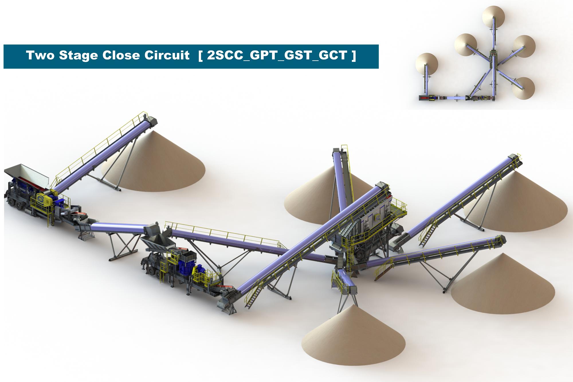 Treea Machinery Aggregates Minerals Transportable 02