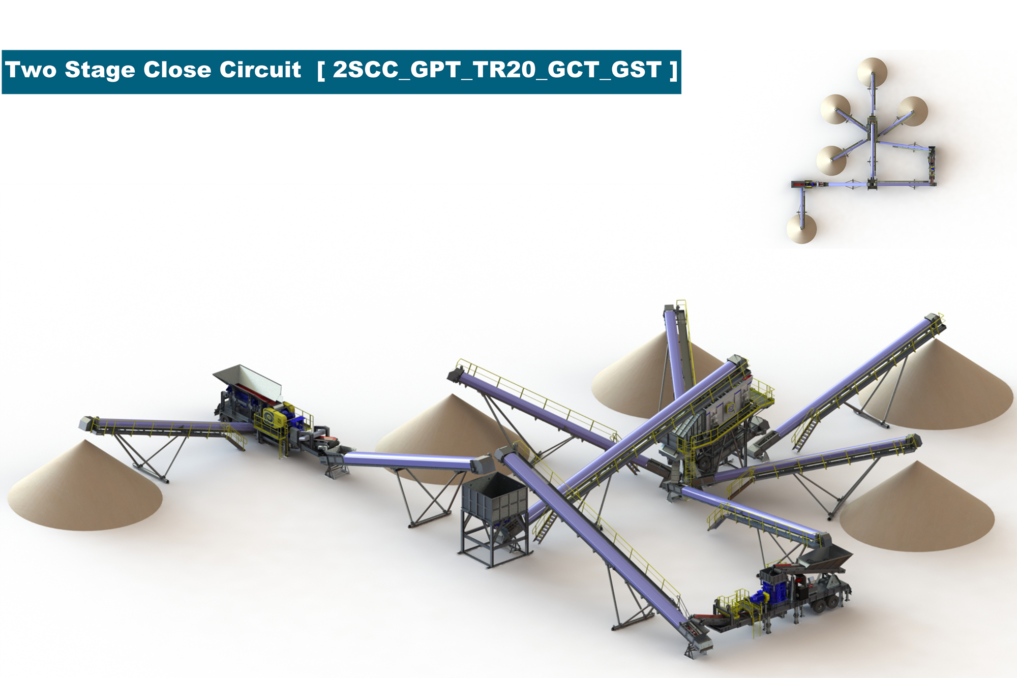 Treea Machinery Aggregates Minerals Transportable 03