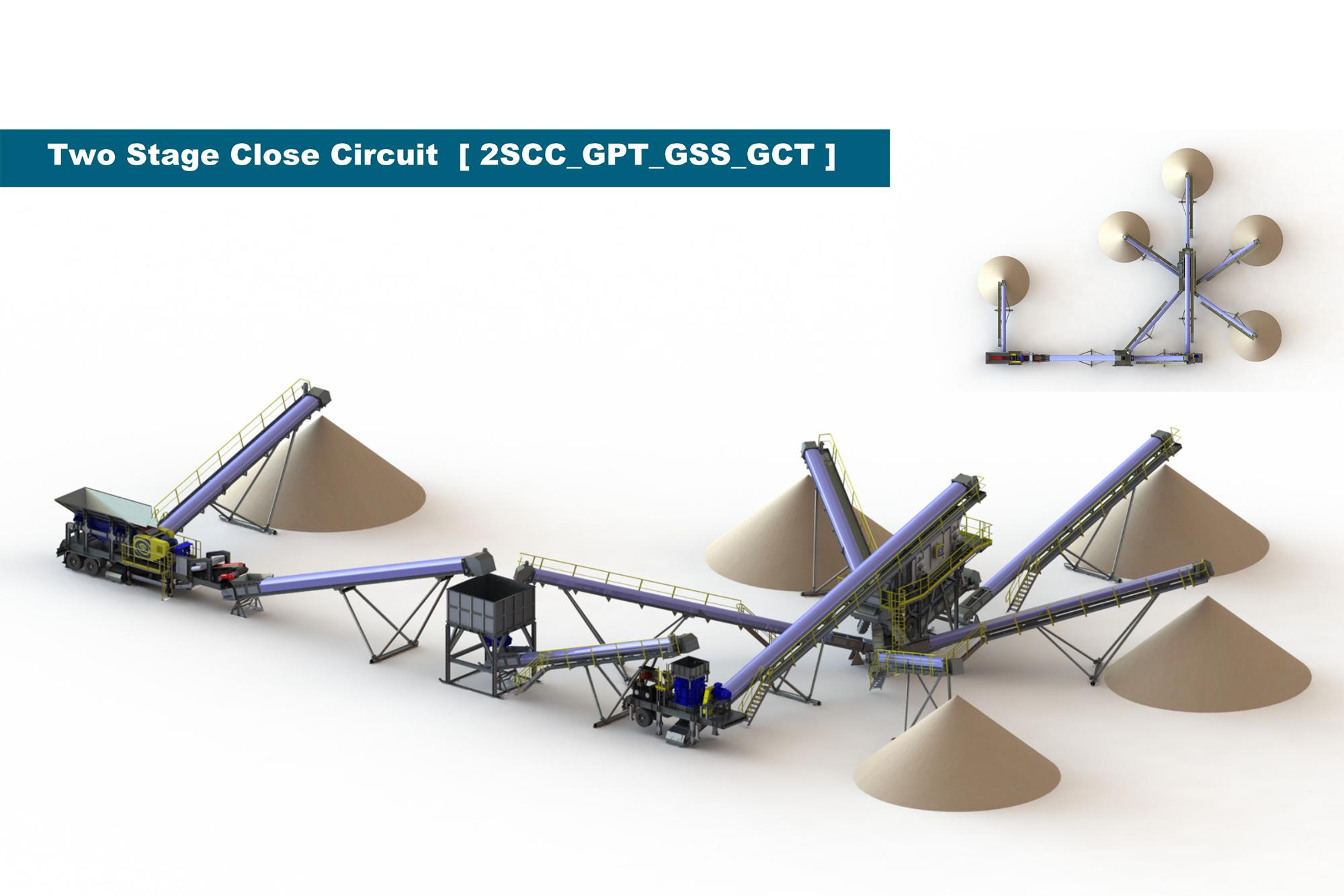 Treea Machinery Aggregates Minerals Transportable 04