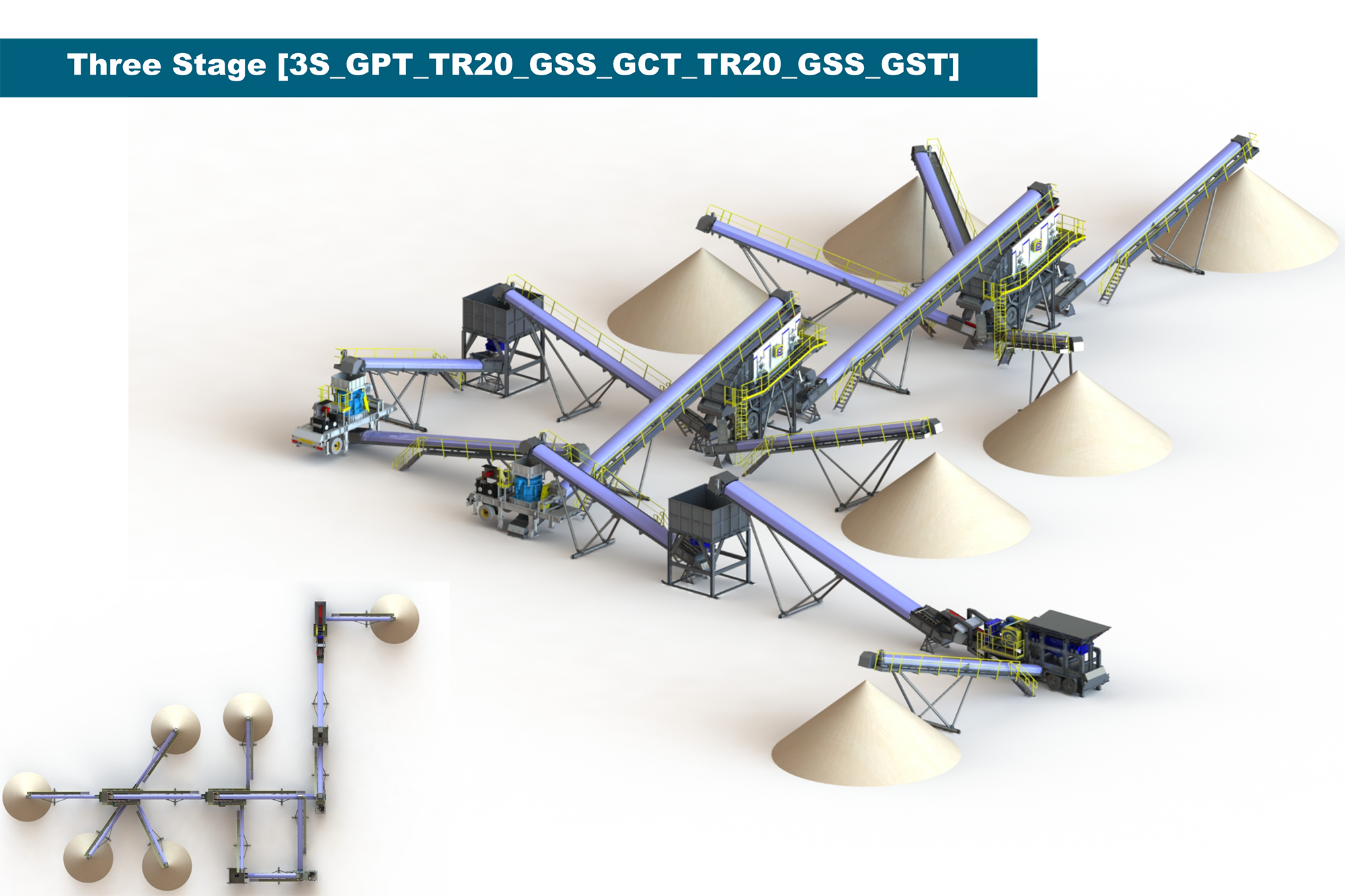 Treea Machinery Aggregates Minerals Transportable 05