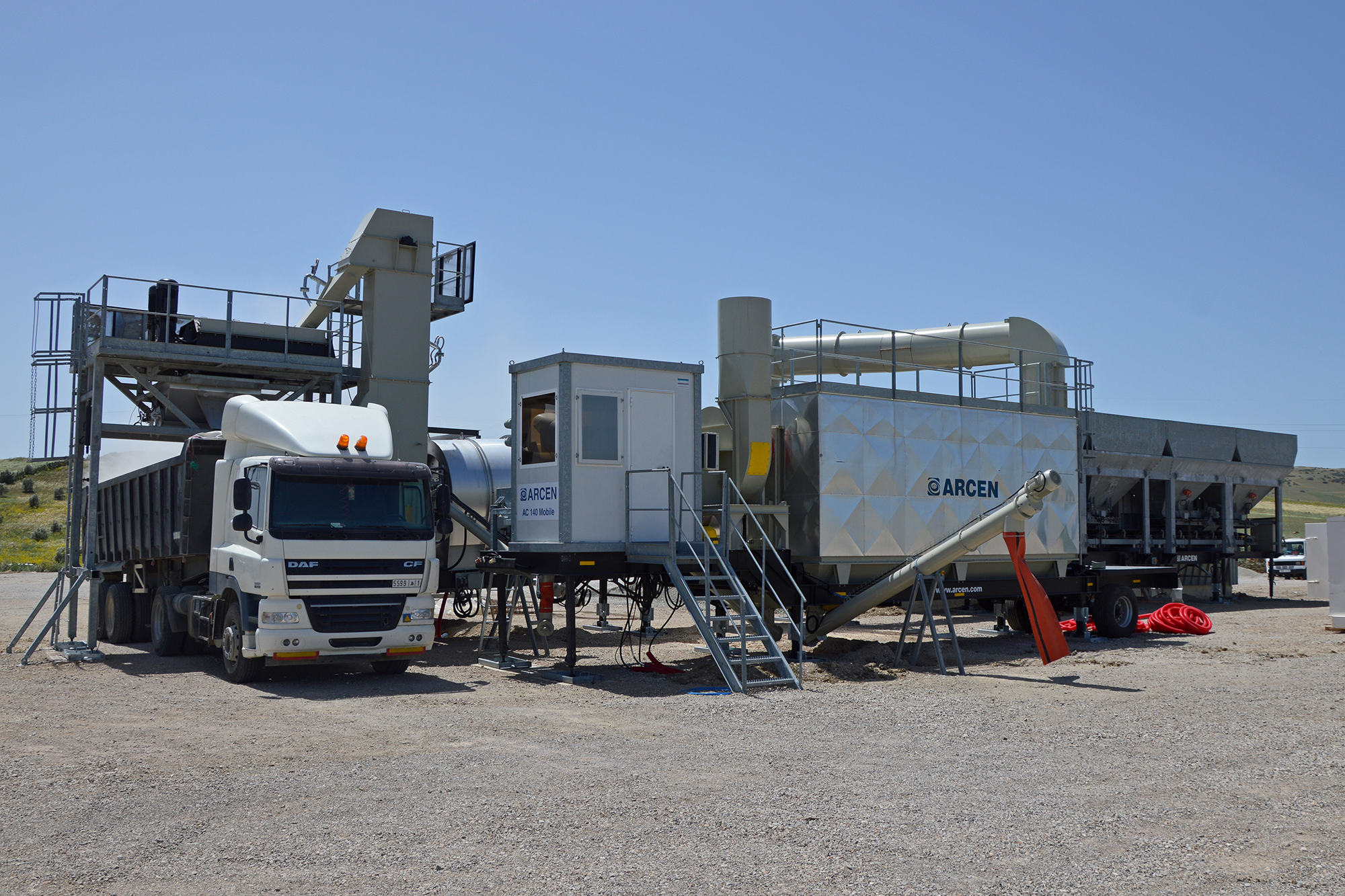 Treea Machinery Asphalt Plants Mobile Continuos 01