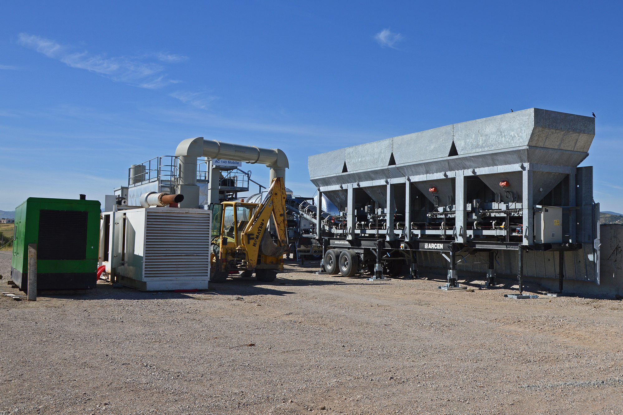 Treea Machinery Asphalt Plants Mobile Continuos 03