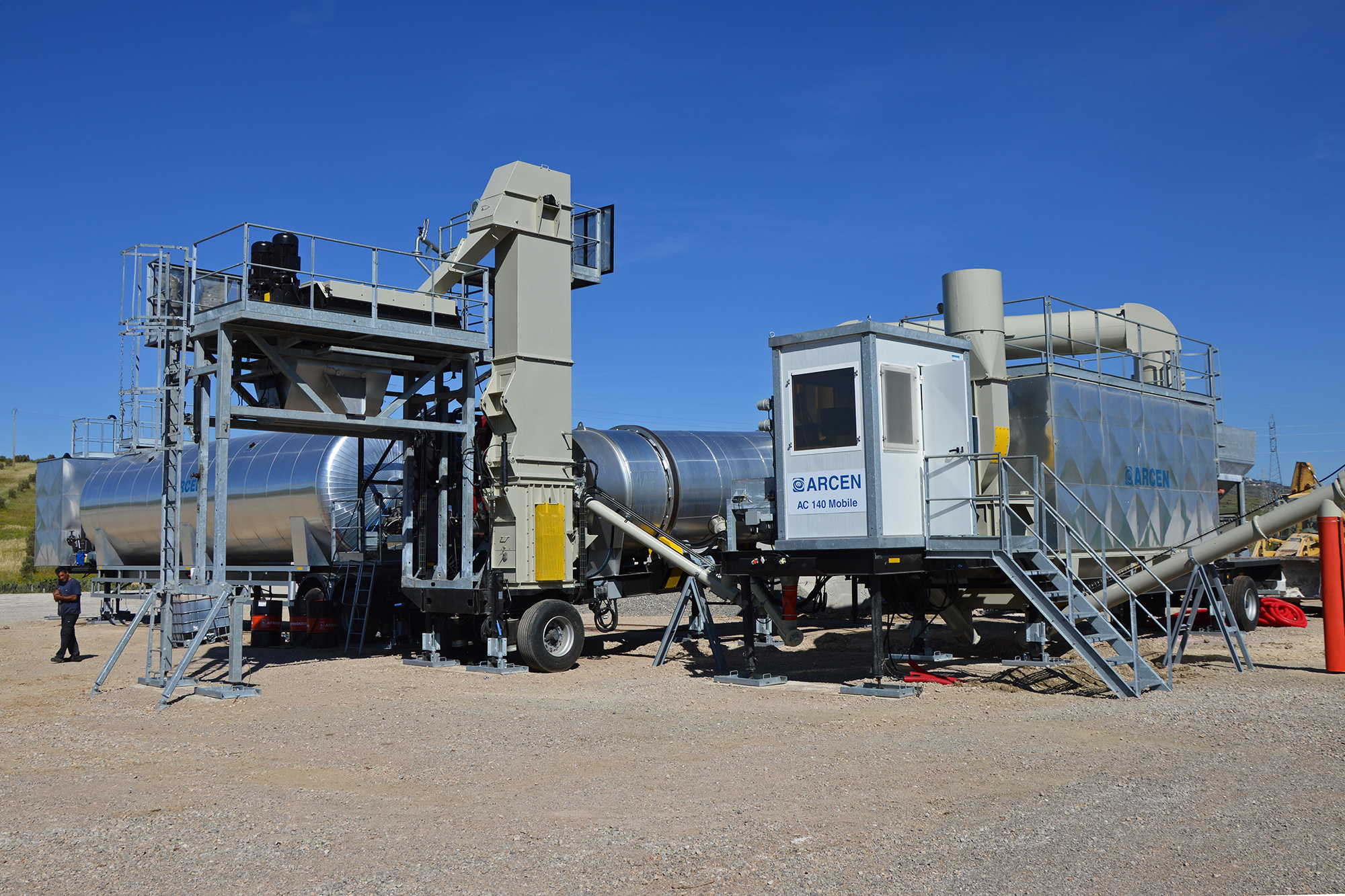 Treea Machinery Asphalt Plants Mobile Continuos 05