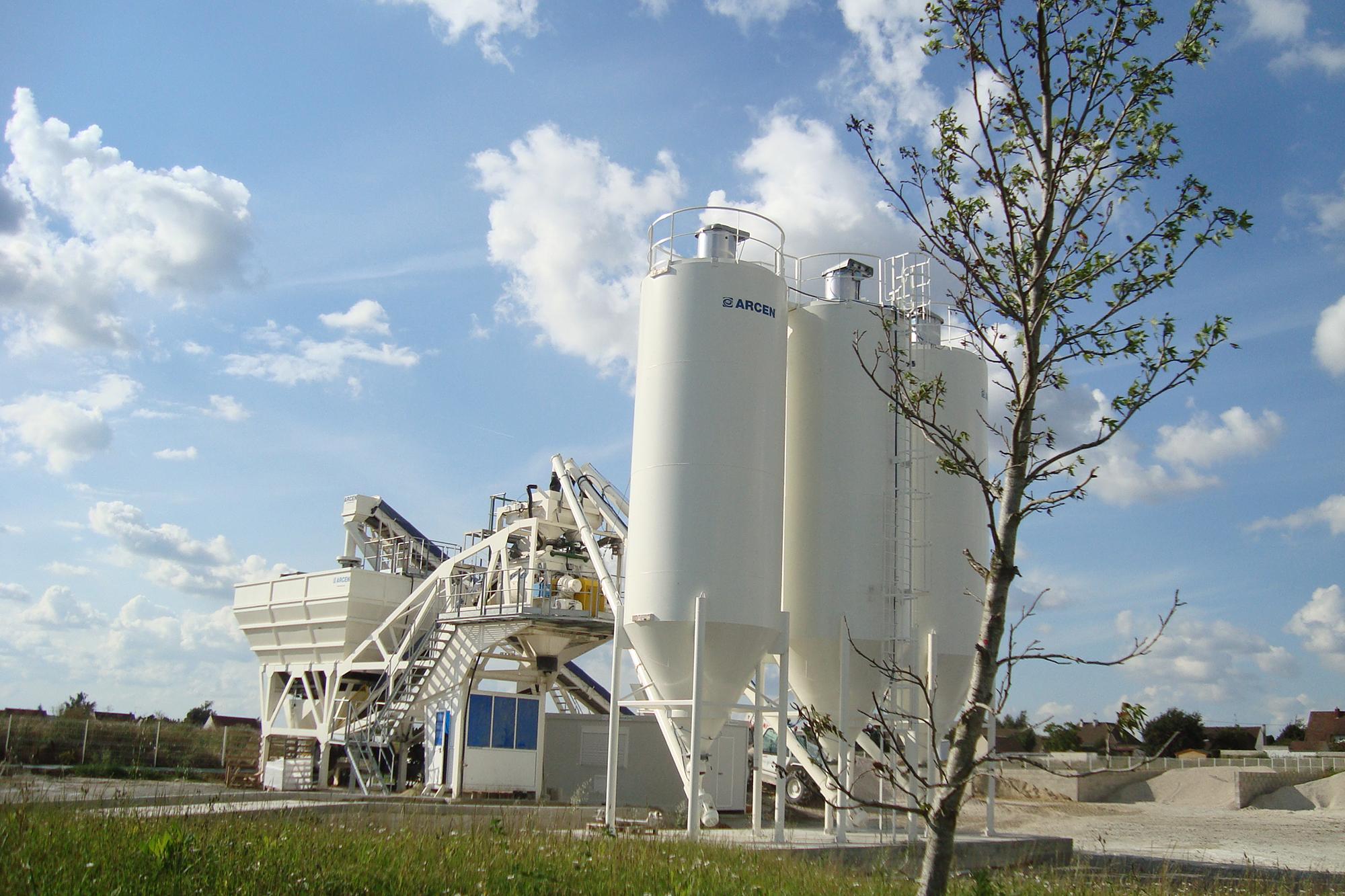 Treea Machinery Concrete Plants Mobile 01