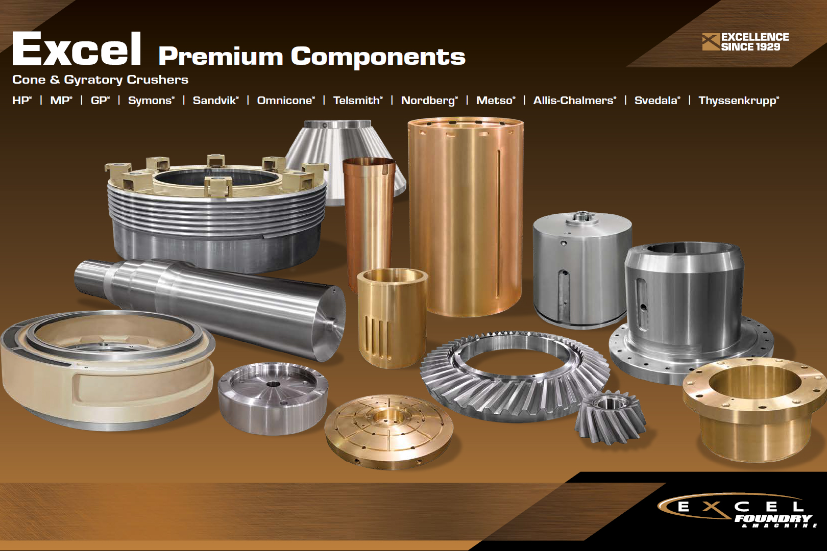 Treea Machinery Products Spares and Wares for Mining and Aggregates - 01